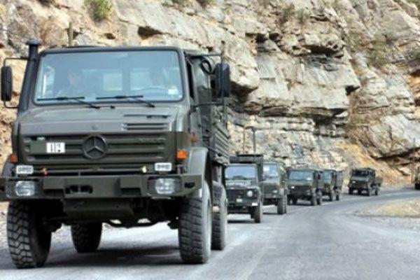 Tunceli'de askeri araca mayınlı tuzak