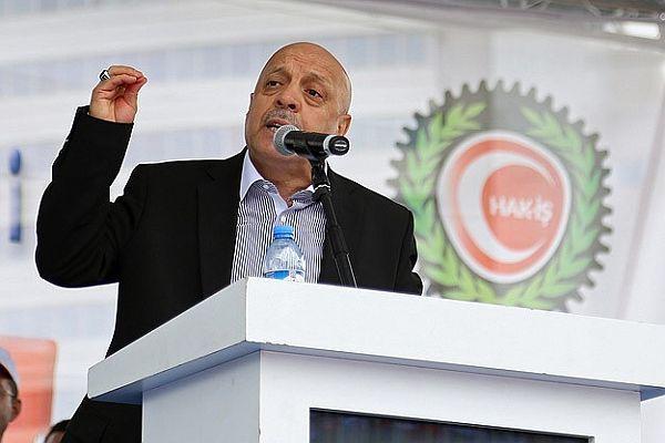 HAK-İŞ Genel Başkanı Arslan, 'İş güvenliği önlemlerini artırın'