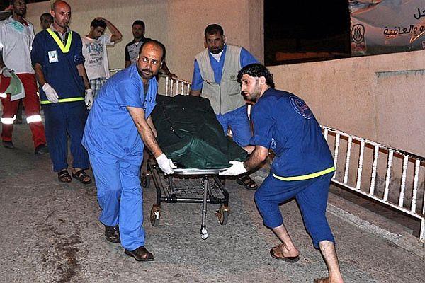 Gazze'de hayatını kaybedenlerin sayısı 1458'e yükseldi
