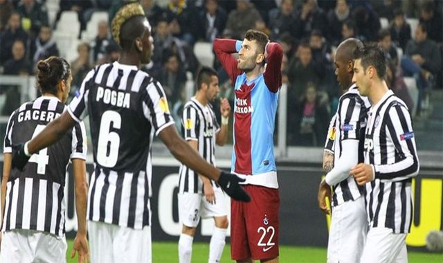 Juventus Trabzonspor maç özeti ve golleri