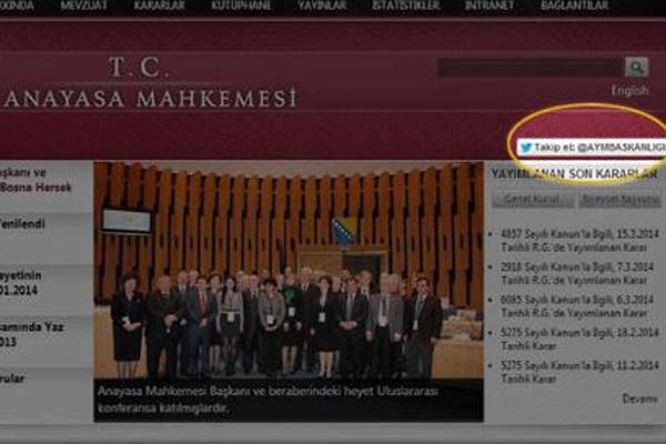 Burhan Kuzu kapat diyor, AYM Twitter'da hesap açıyor