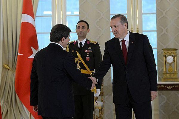 Erdoğan başkomutan sıfatıyla tebrikleri kabul etti