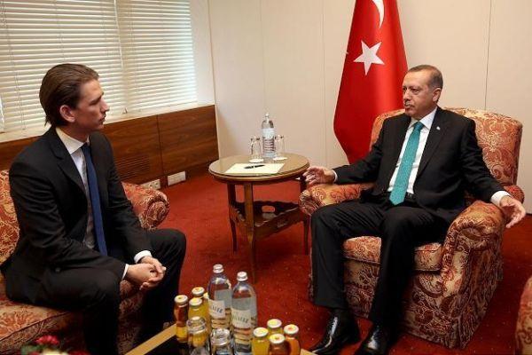 Başbakan Erdoğan Avusturya Dışişleri Bakanı'nı kabul etti