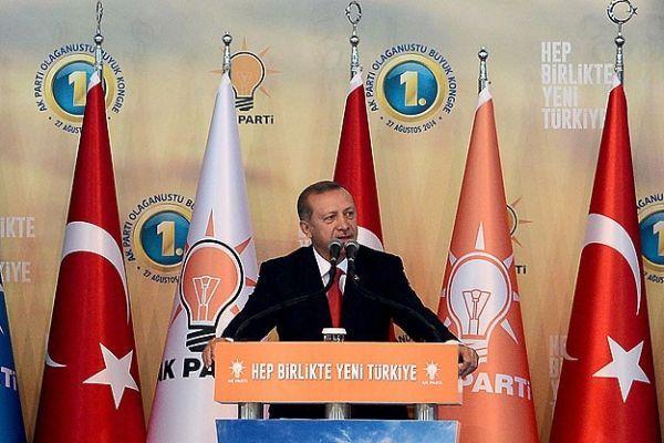 Erdoğan, AK Parti 1. Olağanüstü Büyük Kongresi'nde konuştu- İZLE