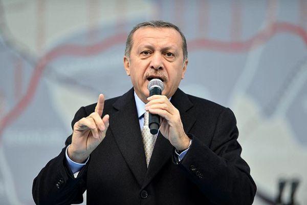 Başbakan Erdoğan metro açılışında konuşuyor