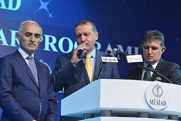 Başbakan Erdoğan, MÜSİAD'ın iftar programında konuştu
