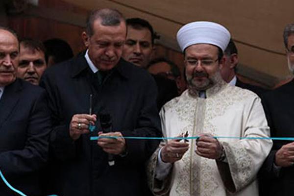 Başbakan Erdoğan 'Ayasofya' tezahüratına yanıt verdi