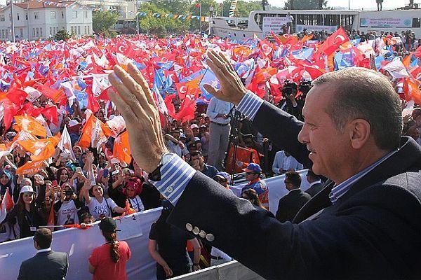 Başbakan Erdoğan Yalova'da halka hitap etti