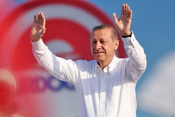 Halkın seçtiği ilk cumhurbaşkanı Erdoğan oldu