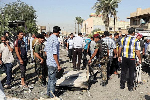 Bağdat'ta patlama, 8 ölü, 12 yaralı