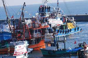 Başbakan Erdoğan'a balıkçılardan sürpriz