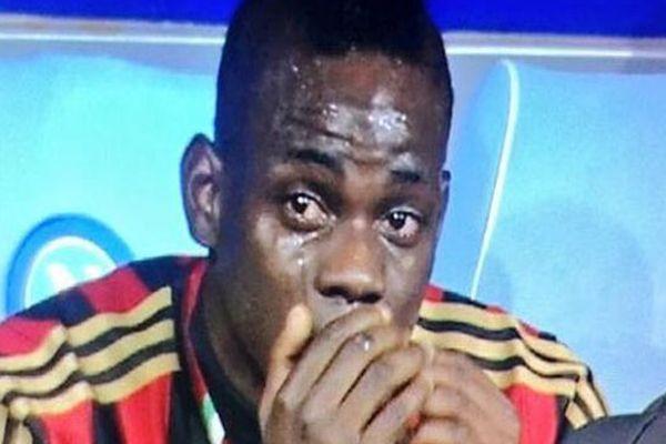 Balotelli neden ağladı