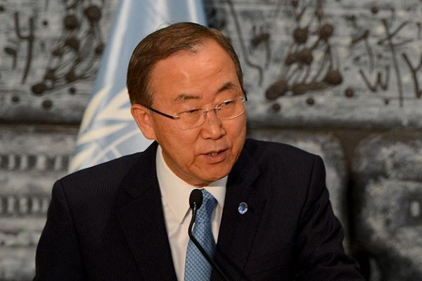 BM Genel Sekreteri Ban, 'Buna sessiz kalamam'