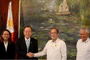 BM Genel Sekreteri Ban Filipinler'de