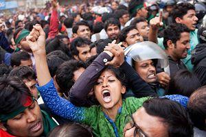 Bangladeş'te 'süresiz gösteri' çağrısı