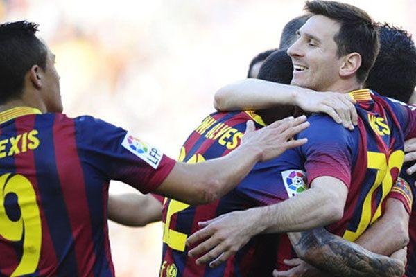 Barcelona Messi ile güle oynaya kazandı