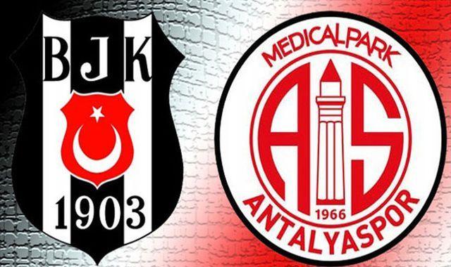 Beşiktaş M.P. Antalyaspor maçı özeti ve golleri