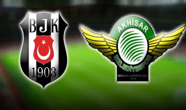 Beşiktaş, Akhisar Belediyespor'u 3 - 0 mağlup etti
