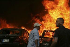 Beyrut'ta şiddetli bir patlama, 4 Ölü