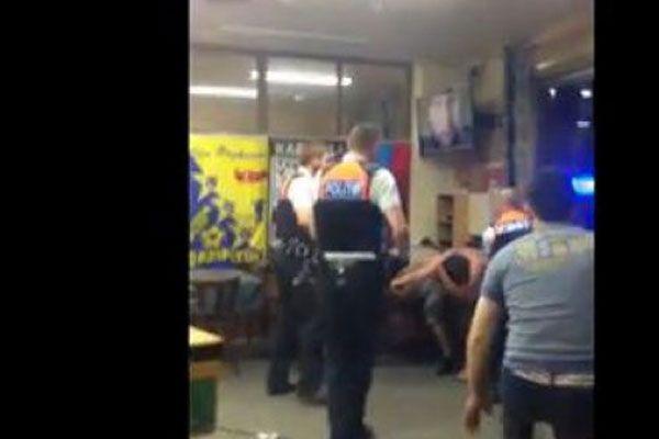 Belçika'da Türklere polis müdahalesi