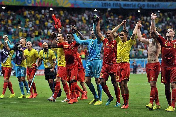 Belçika 28 yıl sonra çeyrek finalde