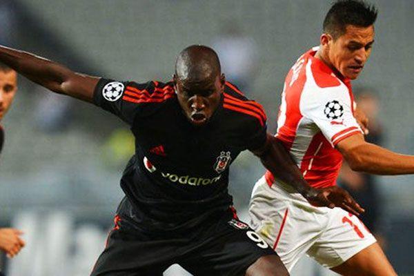 Beşiktaş Arsenal maçında ilk 11'ler belli oldu