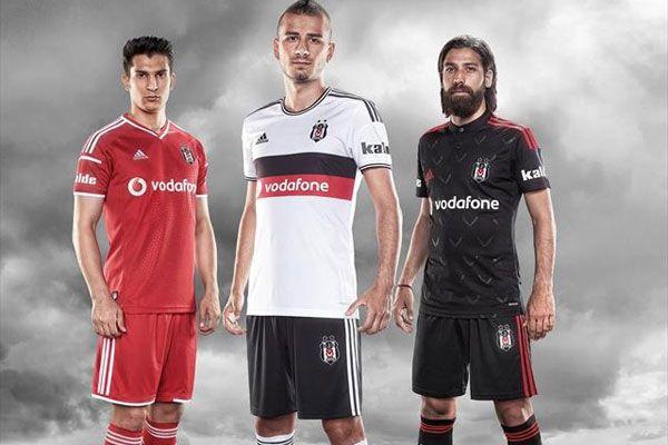 Beşiktaş'ın yeni sezon formaları tanıtıldı