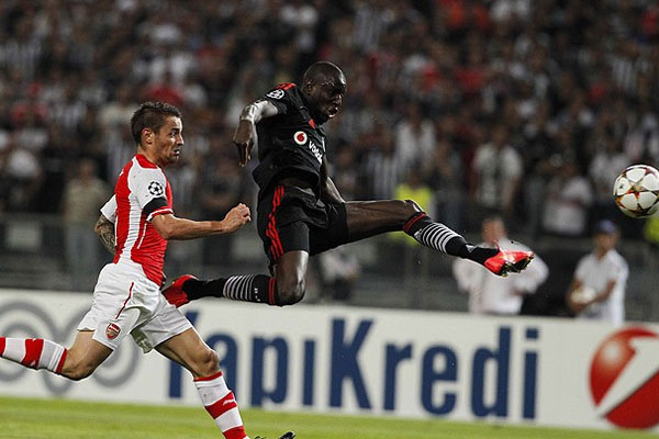 Beşiktaş, Arsenal karşısında turu rövanşa bıraktı