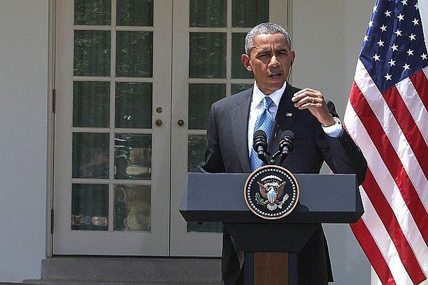 ABD Başkanı Obama Beyaz Saray muhabirleriyle buluştu