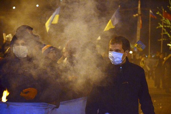 Ukrayna'da özel polis birliği Berkut'un bazı üyeleri gözaltında