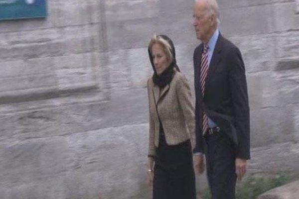 Türkiye'de bulunan Joe Biden'den cami ziyareti