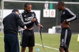 Beşiktaş Antalya'daki ilk antrenmanını yaptı