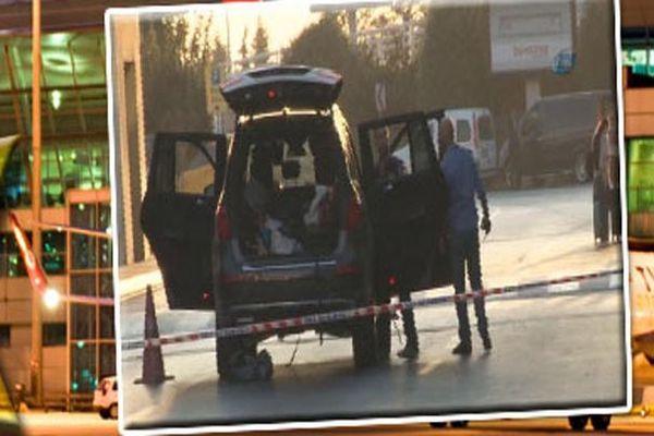 Bakırköy'de bombalı bir araç durduruldu
