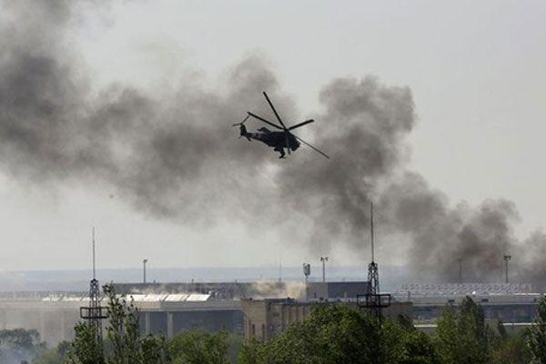 Ukrayna'da tansiyon yükseliyor, jetler havaalanını bombaladı
