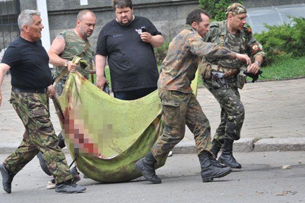 Ukrayna savaş uçakları Rus ayrılıkçıların binasını bombaladı