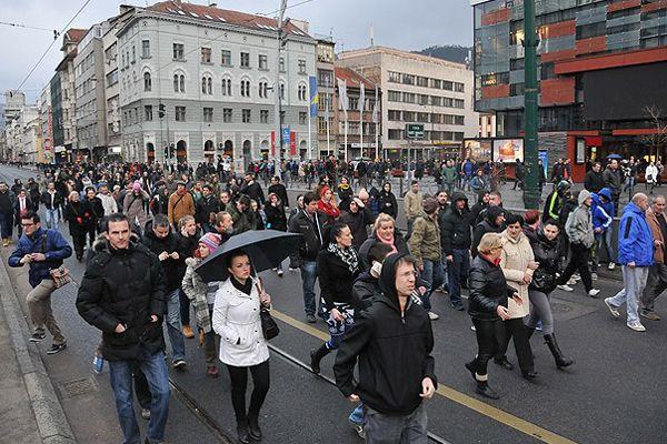Bosna Hersek'te protestolar olayları