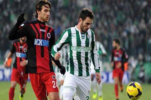 Bursaspor 10 hafta sonra kazandı