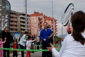 Bursa'da tenis keyfi yaşandı