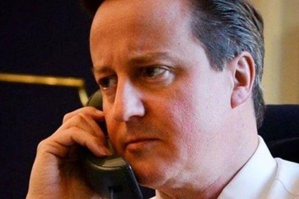 Cameron'dan Poroşenko'ya tebrik telefonu