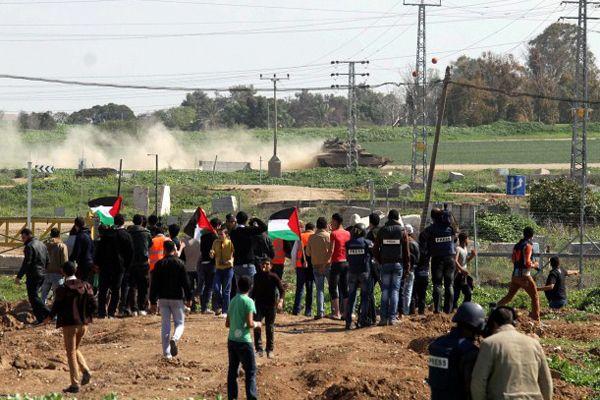Filistinlilerle İsrail askerleri arasında çatışma çıktı