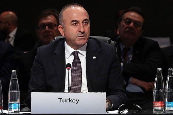 Bakan Çavuşoğlu, 'Ukrayna ve çevresindeki kriz uzlaşı ile çözülmeli'
