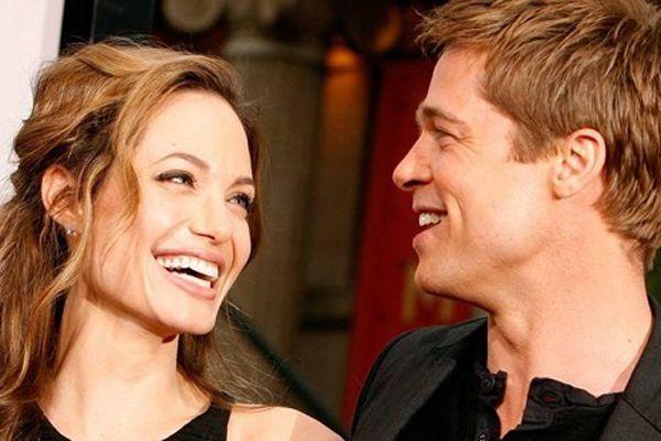 Angelina Jolie-Brad Pitt çiftinin düğününden ilk kare