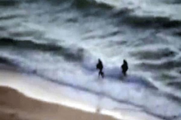 Hamas, İsrail'e denizden çıkarma yaptı - İZLE