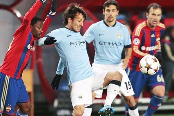Manchester City, Rusya'da dondu kaldı