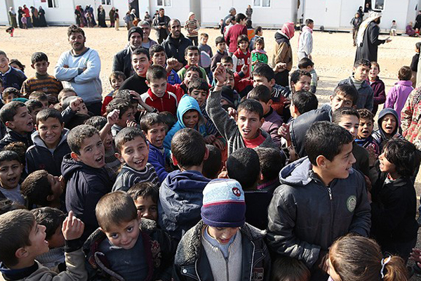 Gaziantep'teki sığınmacıların yarısı 'çocuk'