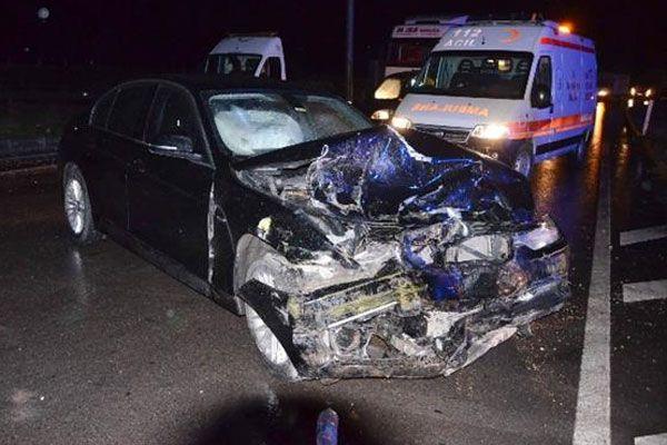 Çorum'da kaza, 1 ölü 6 yaralı