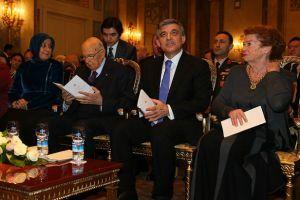 Cumhurbaşkanı Gül, Roma'da resepsiyon verdi