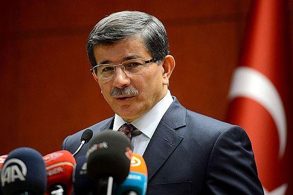 Davutoğlu, 'Suriye uçağı sınırımızı 1 kilometre ihlal etmiştir'