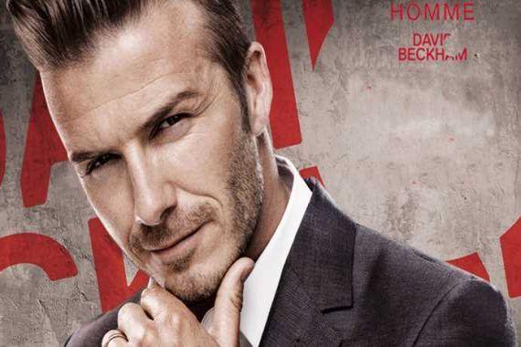 Yılın en şık adamı David Beckham