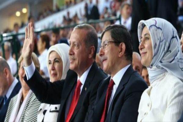 AK Partililerin kongrede ayakta alkışladığı an!